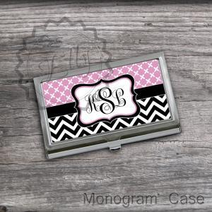 Baby Pink and Black chevron set Car..