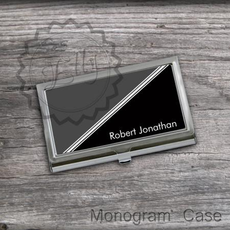 Classic Business card Holder - Best Card Holder, Personalized graduation gift, office boss gift, custom card keeper